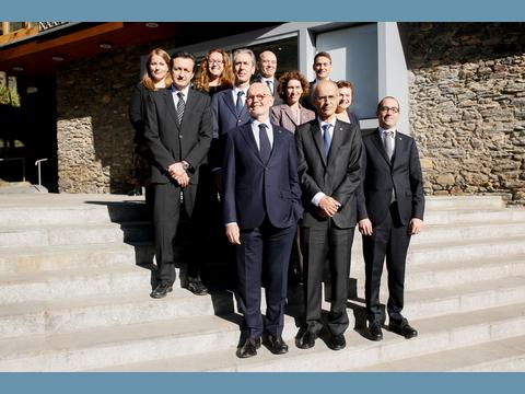 Tripartite meeting on negotiations with European Union between Monaco, Andorra and San Marino