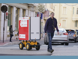 Monaco Post Office is Trialling an Automated Tracking Robot