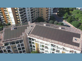 A Solar Roof for the Firefighters in Fontvieille