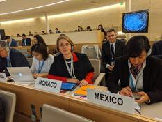 Torture - H.E. Ms. Carole Lanteri, Ambassador, Permanent Representative of Monaco to the United Nations Office at Geneva ©DR