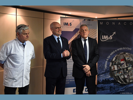 Minister of State visits Monaco Institute of Sports Medicine and Surgery (IM2S)